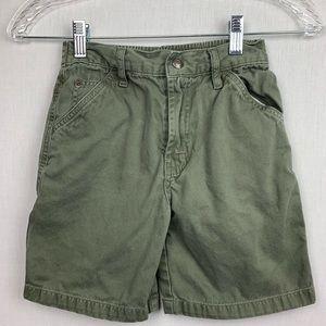 Sonoma Olive Green Shorts Cotton Boys Size 7